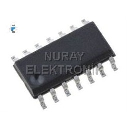74LS125, SMD, SOIC-14